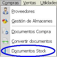 Documentos de stock