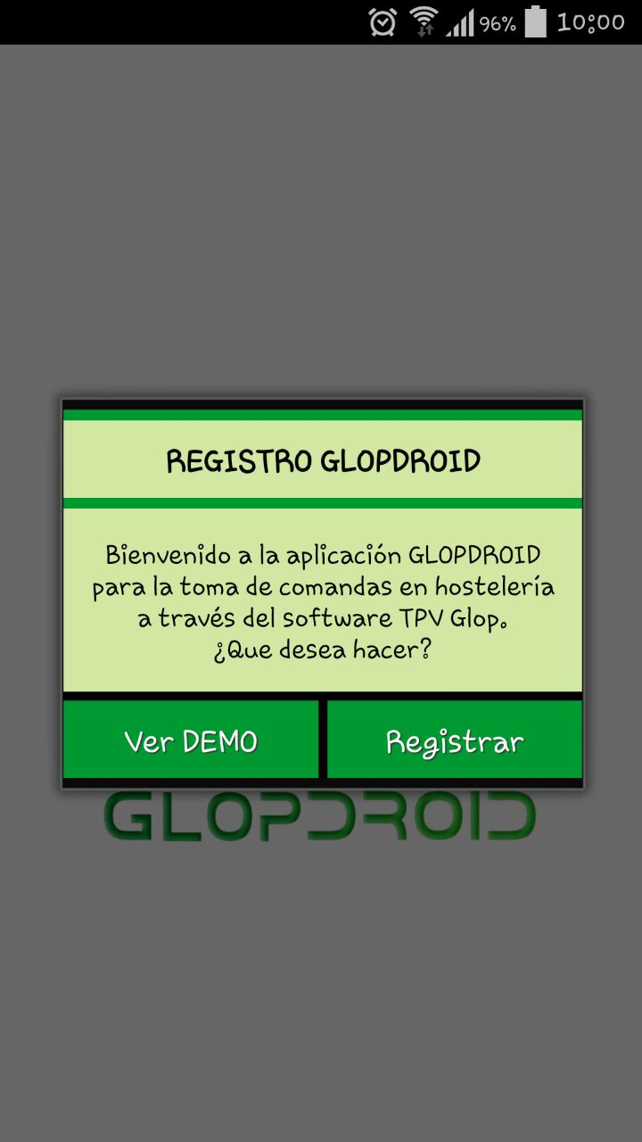 registrar modulo android